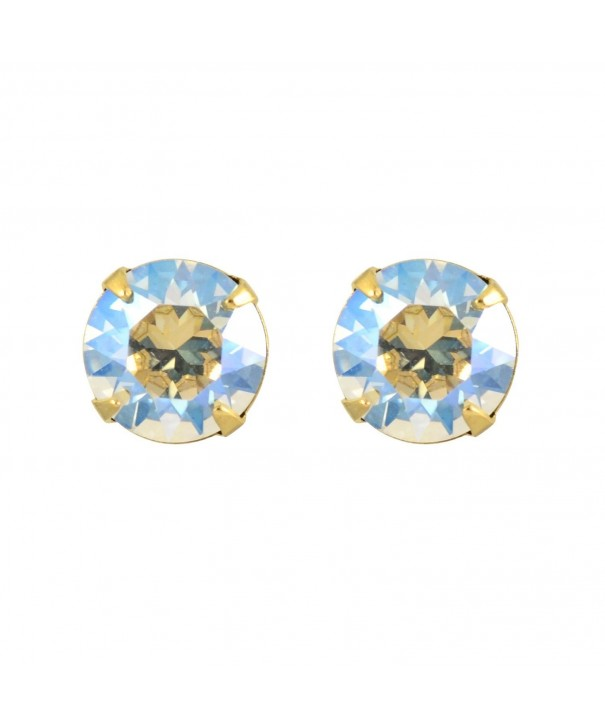 Liz Palacios Plated Crystal Earrings