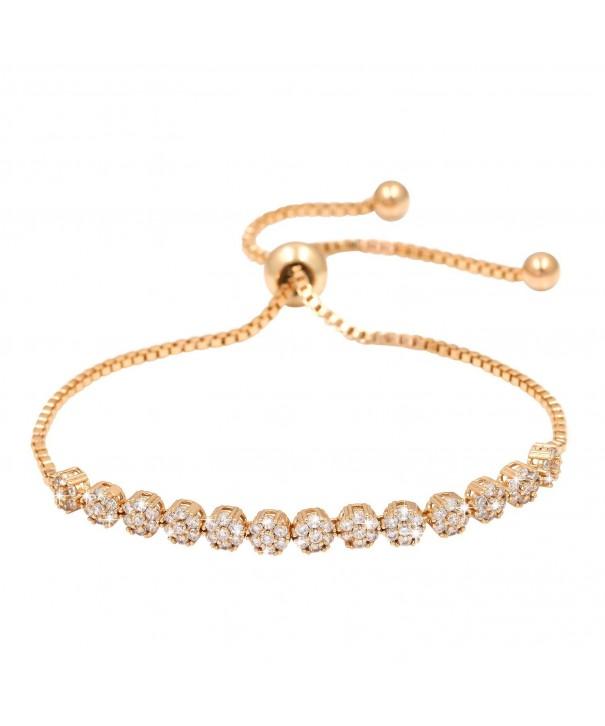 WeimanJewelry Luxury Bracelet Sparkling Zirconia