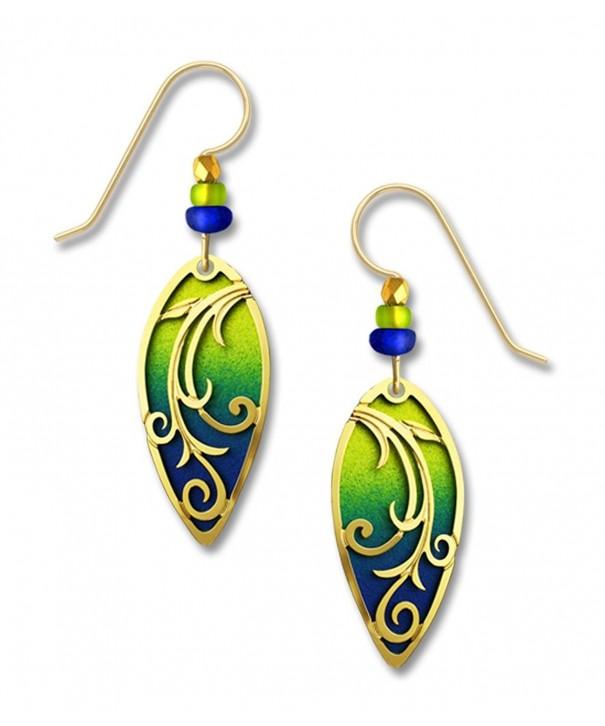 Adajio Sienna Chartreuse Earrings 7633
