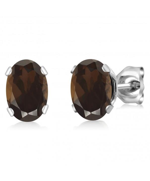 Shape Quartz Sterling Silver Earrings