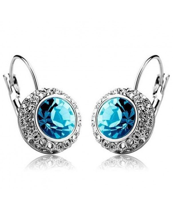 MANDI HOME Rhinestone Crystal Earrings