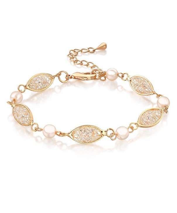 Mytys Zirconia Crystal Fashion Bracelets