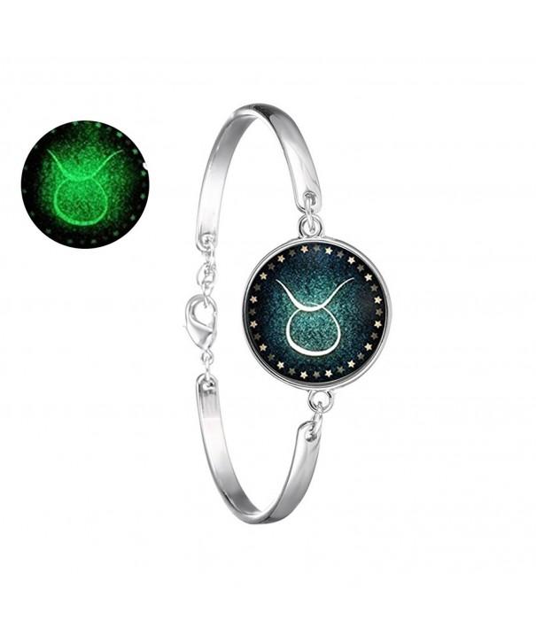 Handmade Zodiac jewelry glowing bracelet