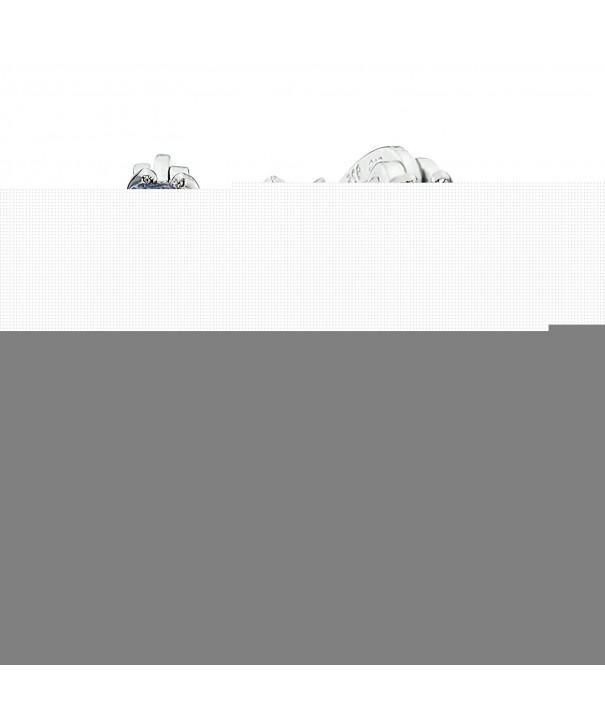Sterling Silver Genuine Tanzanite Earrings