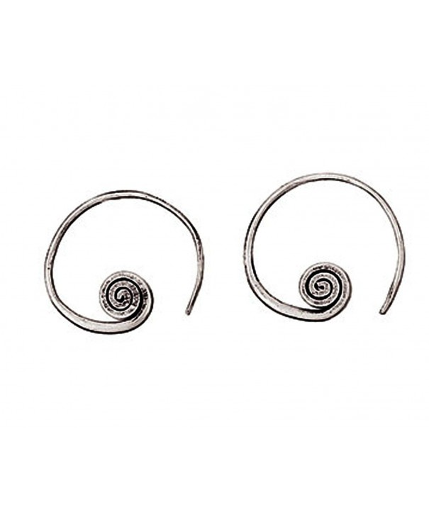 Sterling Earrings Textured Designs Nathan