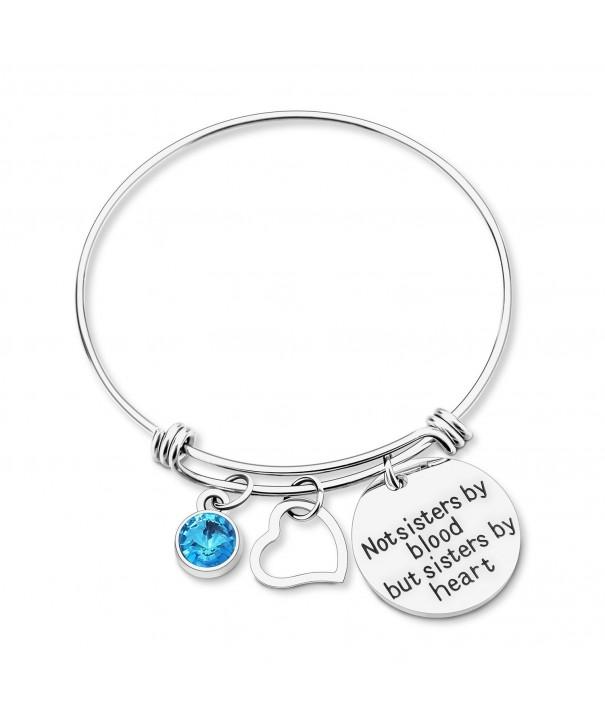 Yoomarket Friendship Birthstone Adjustable 03 Mar Aquamarine