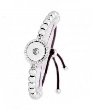 Interchangeable Jewelry Adjustable Slider Bracelet