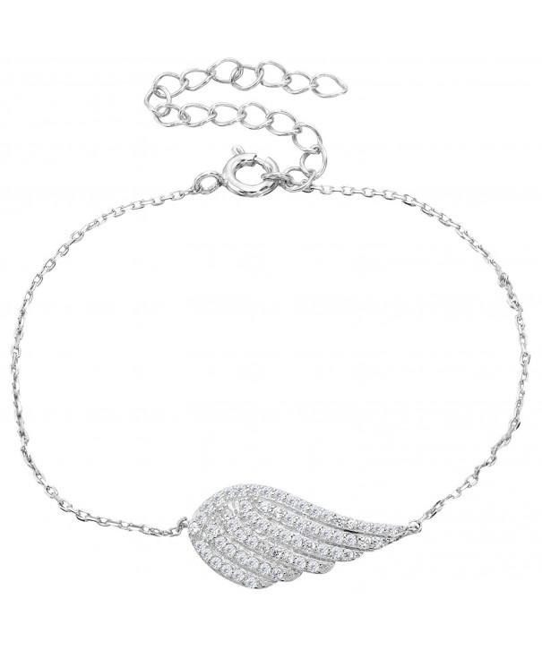 EVER FAITH Sterling Adjustable Bracelet