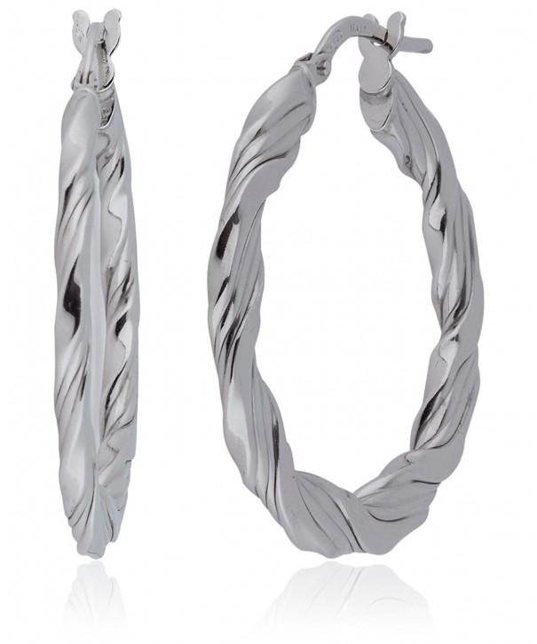 Silverluxe Womens Sterling Silver Earring