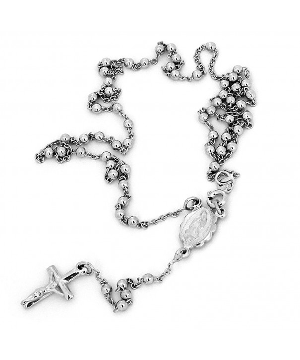 Sterling Silver Rhodium Plated Necklace