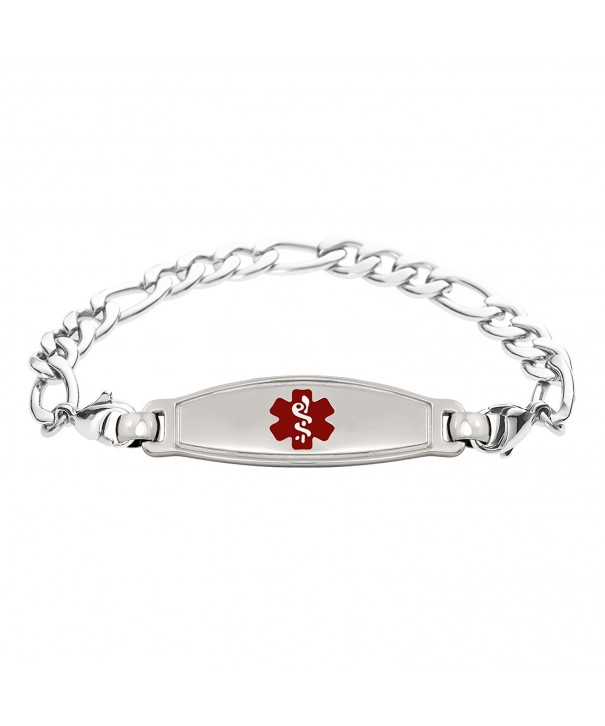 Divoti Engraved Contempo Bracelet Stainless
