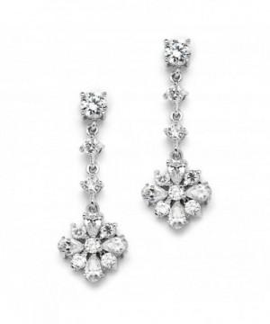 Mariell Zirconia Earrings Wedding Bridesmaid