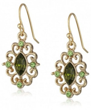 1928 Jewelry Antique Filigree Earrings