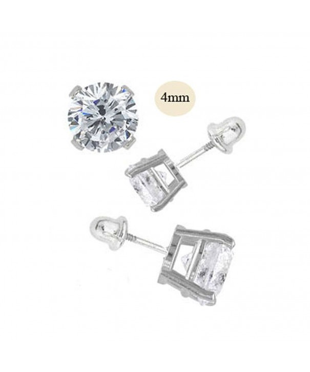 Nourei Simulated Diamond Earring Setting