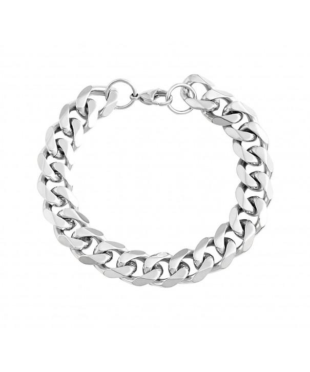 Edforce Stainless Steel Wristband Bracelets