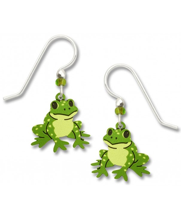 Sienna Sky Frog Dangle Earrings