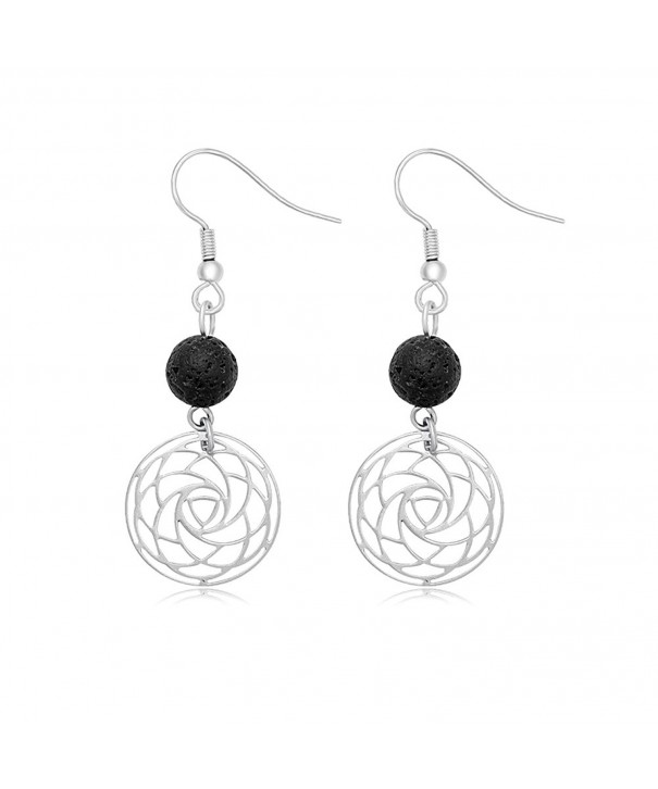 SENFAI Black Volcano Earring Earrings