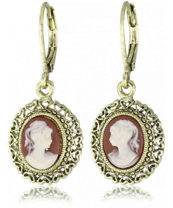 1928 Jewelry Vintage Inspired Escapade Carnelian
