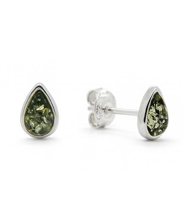 Sterling Silver Earrings Genuine Natural