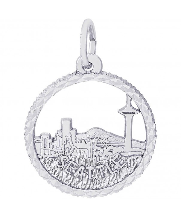Rembrandt Charms Seattle Sterling Silver