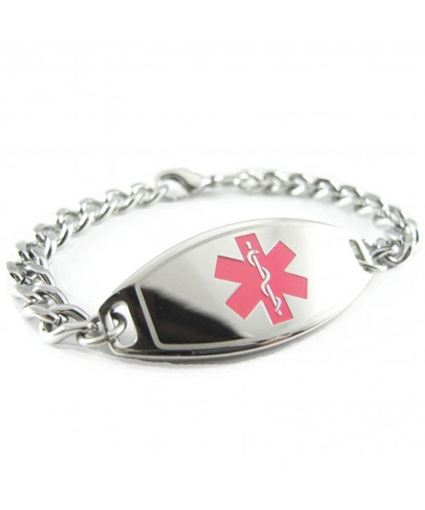 MyIDDr Pre Engraved Customized Diabetes Bracelet