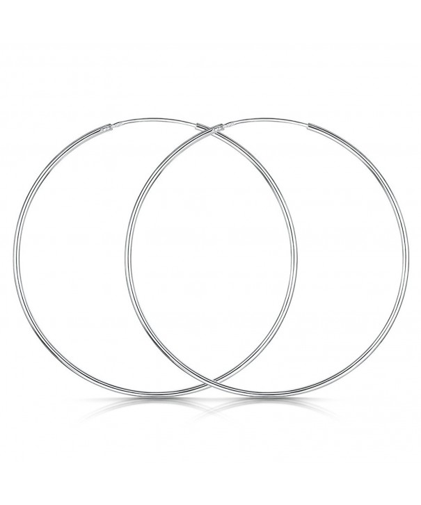 Amberta Sterling Silver Circle Endless