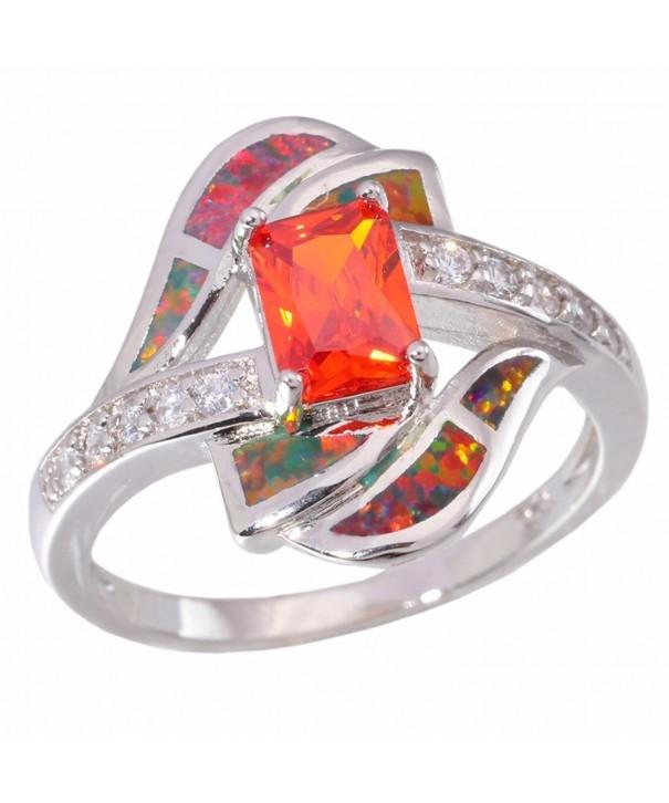 CiNily Created Rhodium Jewelry Gemstone