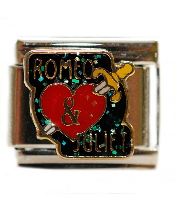 Romeo Juliet Italian Bracelet Charm