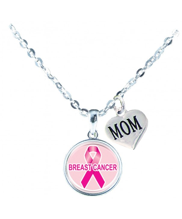 Necklace Custom Breast Awareness Jewelry