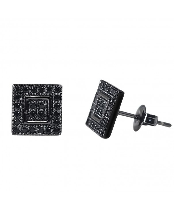 Earrings Diamond Surgical Stainless Sensitive