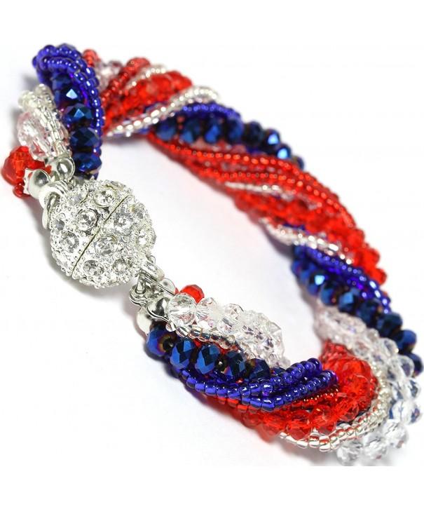AnsonsImages Crystal Magnetic Rhinestone Bracelet