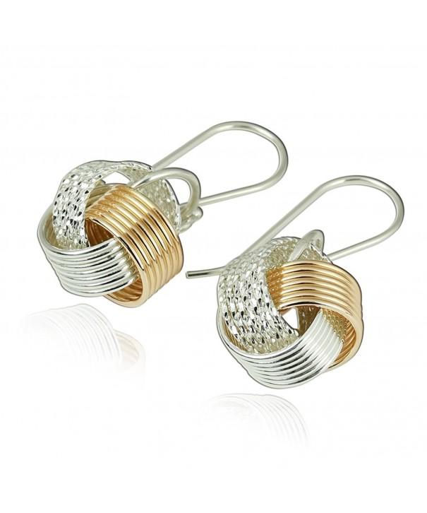 Earrings Sterling Silver Filled Artisan