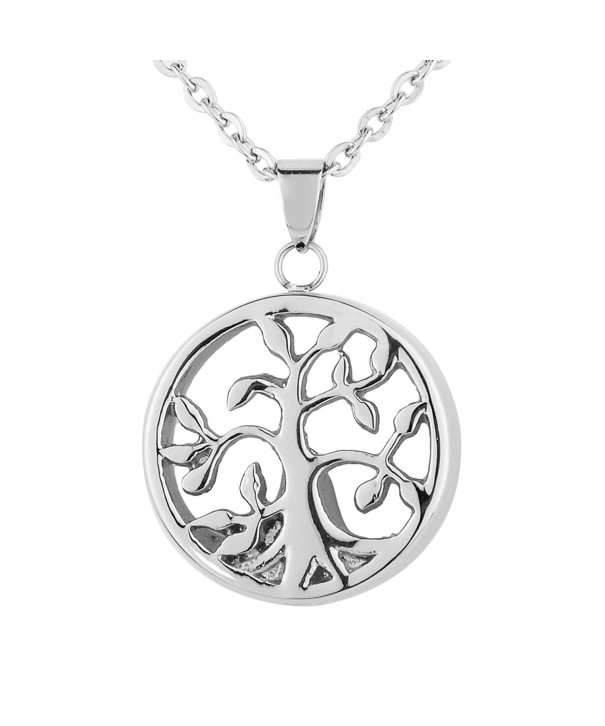 VALYRIA Cremation Stainless Filigree Necklace