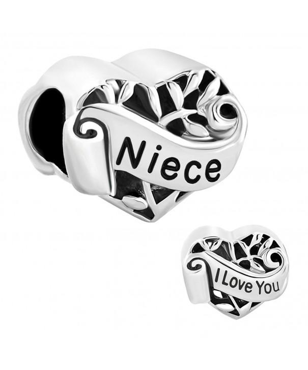 LuckyJewelry Niece Jewelry Charms Bracelet