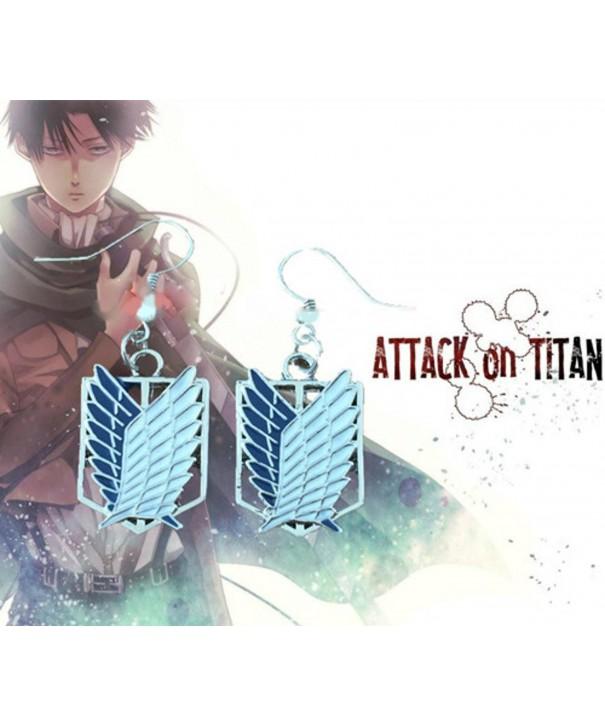 Superheroes Anime Attack Dangle Earrings