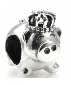 Sterling Silver Crown European Style