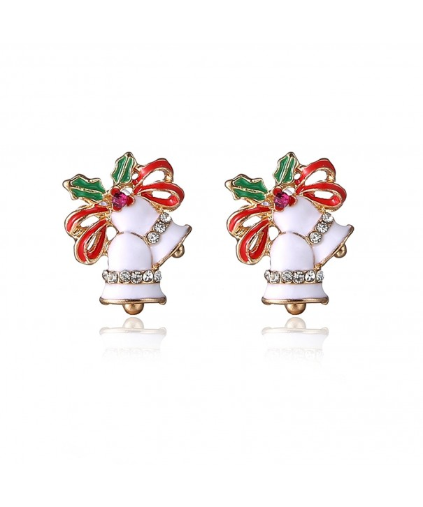 CHUYUN Christmas Jingle Earrings Stuffers