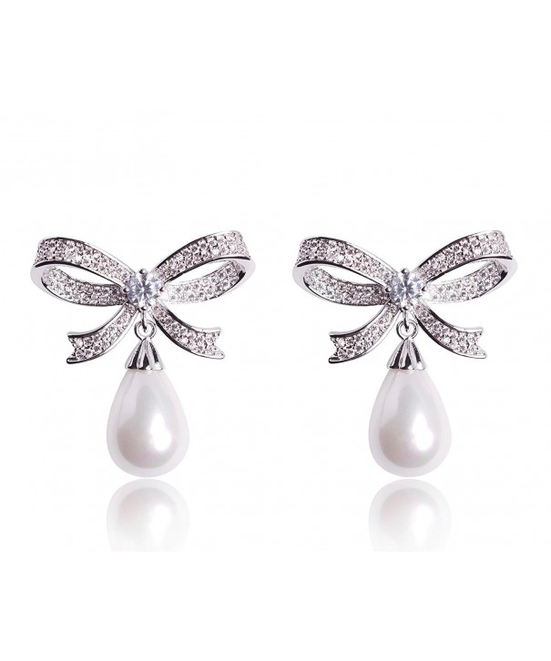 Sparkling Zirconia Celebrity Designer Earrings