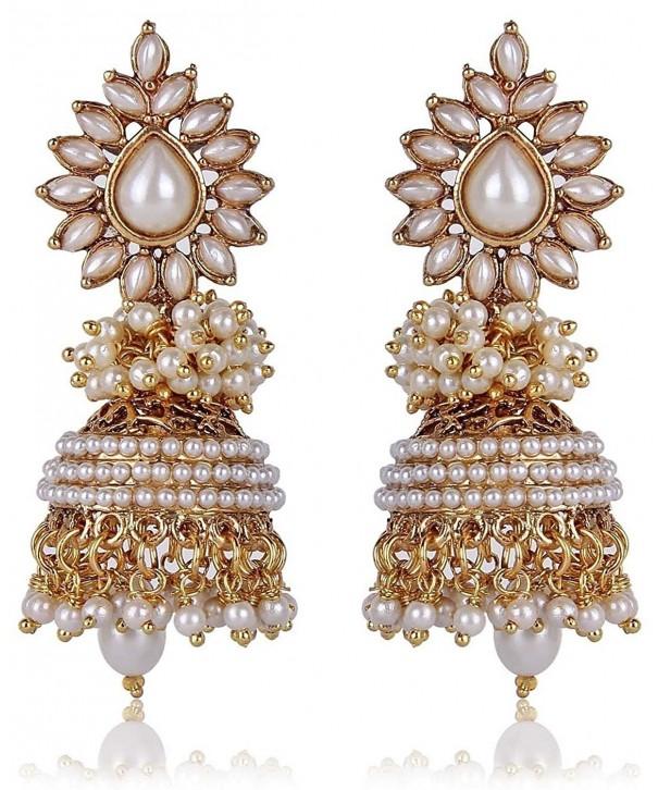 Royal Bling Bollywood Meenakari Earrings