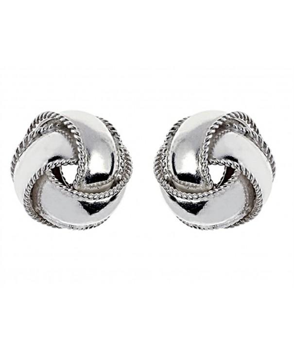 Finejewelers Sterling Silver Earrings 12 5mm
