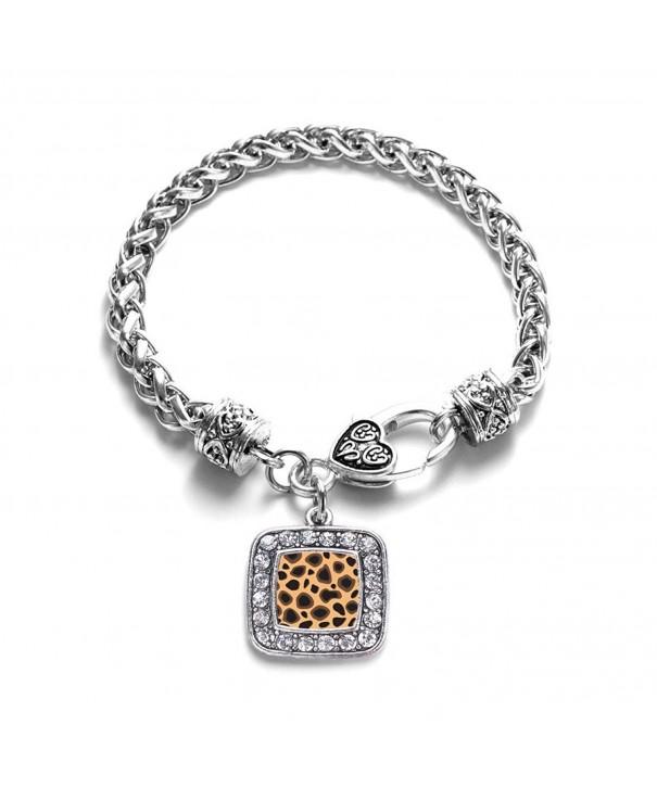 Leopard Pattern Classic Silver Bracelet