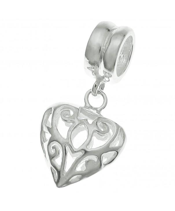 Sterling Silver Dangle European Bracelets