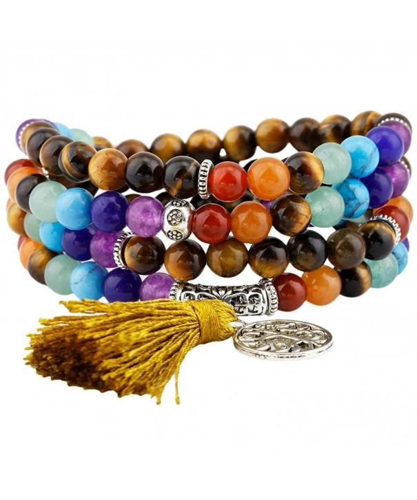 rockcloud Bracelet Necklace Buddhist Meditation