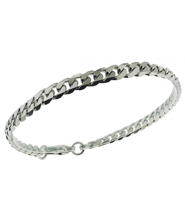 4 8mm Bracelet Stainless Length Inches