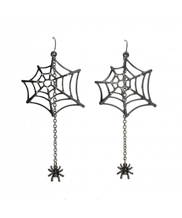 Katara Decor Earrings Rhinestone Halloween
