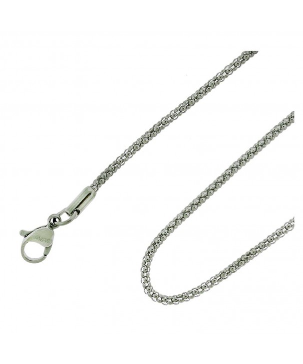Coreana Chain Stainless Steel Necklace