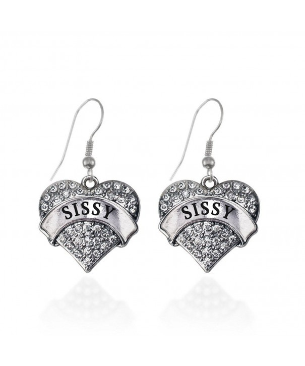 Sissy Earrings French Crystal Rhinestones