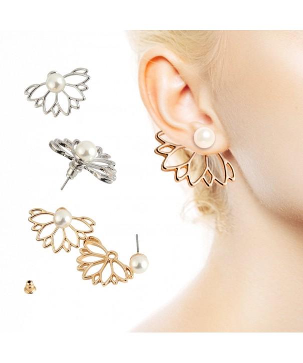 Flower Lovely Crystal Earrings Jewelry