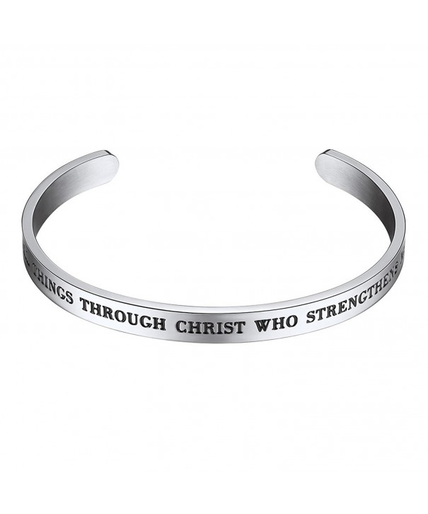 Bracelet Things Through Christ Strengthens