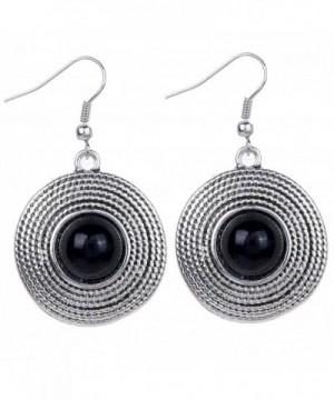 YAZILIND Vintage Black Dangle Earrings